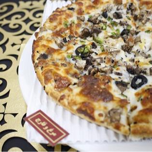 پيتزا مرغ و قارچ